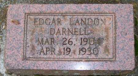DARNELL, EDGAR LANDON - Warren County, Tennessee | EDGAR LANDON DARNELL - Tennessee Gravestone Photos