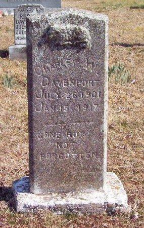 DAVENPORT, CHARLEY W. - Warren County, Tennessee | CHARLEY W. DAVENPORT - Tennessee Gravestone Photos
