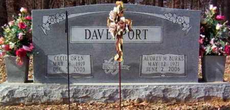 DAVENPORT, CECIL OREN - Warren County, Tennessee   CECIL OREN DAVENPORT - Tennessee Gravestone Photos