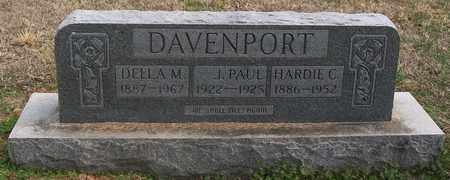 DAVENPORT, J. PAUL - Warren County, Tennessee | J. PAUL DAVENPORT - Tennessee Gravestone Photos
