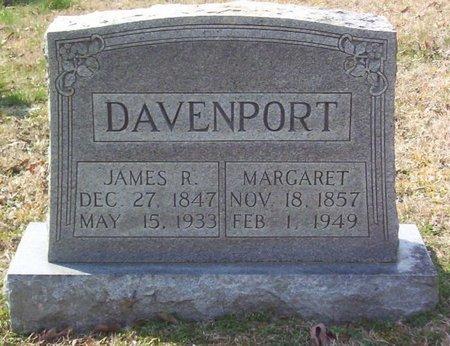 DAVENPORT, MARGARET - Warren County, Tennessee | MARGARET DAVENPORT - Tennessee Gravestone Photos