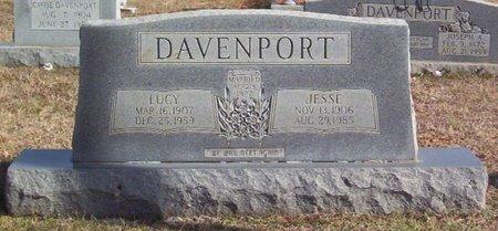 DAVENPORT, JESSE - Warren County, Tennessee   JESSE DAVENPORT - Tennessee Gravestone Photos
