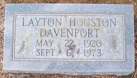 DAVENPORT, LAYTON HOUSTON - Warren County, Tennessee | LAYTON HOUSTON DAVENPORT - Tennessee Gravestone Photos
