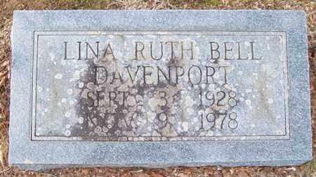 DAVENPORT, LINA RUTH - Warren County, Tennessee | LINA RUTH DAVENPORT - Tennessee Gravestone Photos