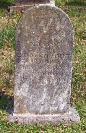 DAVENPORT, NANCY - Warren County, Tennessee | NANCY DAVENPORT - Tennessee Gravestone Photos