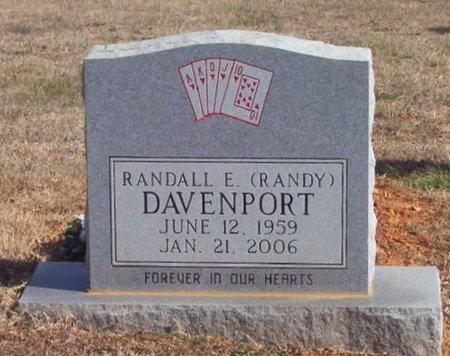 DAVENPORT, RANDALL E. (RANDY) - Warren County, Tennessee | RANDALL E. (RANDY) DAVENPORT - Tennessee Gravestone Photos