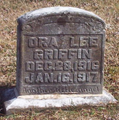 GRIFFIN, ORA LEE - Warren County, Tennessee | ORA LEE GRIFFIN - Tennessee Gravestone Photos