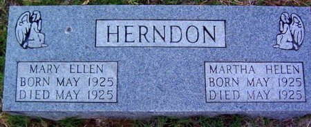 HERNDON, MARTHA HELEN - Warren County, Tennessee | MARTHA HELEN HERNDON - Tennessee Gravestone Photos