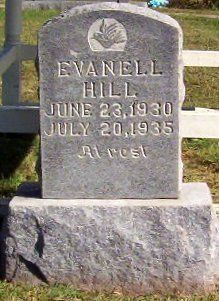 HILL, EVANELL - Warren County, Tennessee | EVANELL HILL - Tennessee Gravestone Photos
