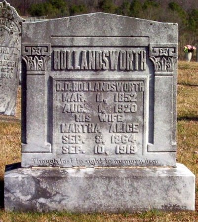 HOLLANDSWORTH, O. D. - Warren County, Tennessee | O. D. HOLLANDSWORTH - Tennessee Gravestone Photos