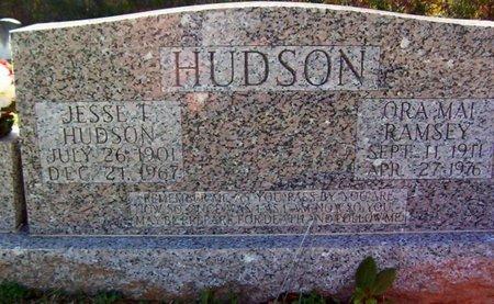 RAMSEY HUDSON, ORA MAI - Warren County, Tennessee   ORA MAI RAMSEY HUDSON - Tennessee Gravestone Photos