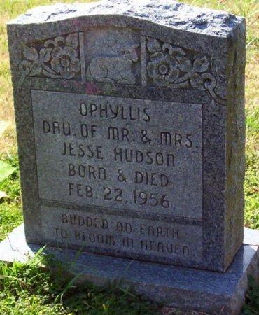 HUDSON, OPHYLLIS - Warren County, Tennessee | OPHYLLIS HUDSON - Tennessee Gravestone Photos