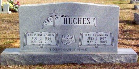 HUGHES, CHRISTINE - Warren County, Tennessee | CHRISTINE HUGHES - Tennessee Gravestone Photos