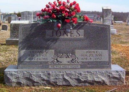 JONES, LILLIAN A. - Warren County, Tennessee | LILLIAN A. JONES - Tennessee Gravestone Photos