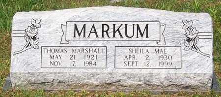 MARKUM, SHEILA MAE - Warren County, Tennessee   SHEILA MAE MARKUM - Tennessee Gravestone Photos