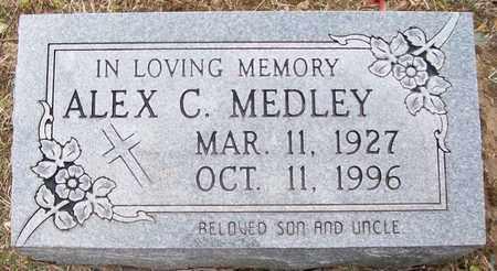 MEDLEY, ALEX C. - Warren County, Tennessee | ALEX C. MEDLEY - Tennessee Gravestone Photos