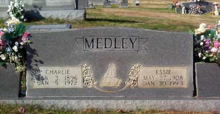 MEDLEY, CHARLIE - Warren County, Tennessee   CHARLIE MEDLEY - Tennessee Gravestone Photos
