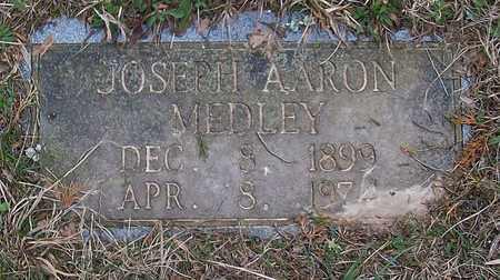 MEDLEY, JOSEPH AARON - Warren County, Tennessee | JOSEPH AARON MEDLEY - Tennessee Gravestone Photos