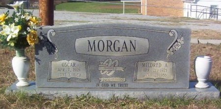 MORGAN, MILDRED A. - Warren County, Tennessee   MILDRED A. MORGAN - Tennessee Gravestone Photos
