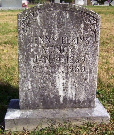 MUNCY, JENNY - Warren County, Tennessee | JENNY MUNCY - Tennessee Gravestone Photos