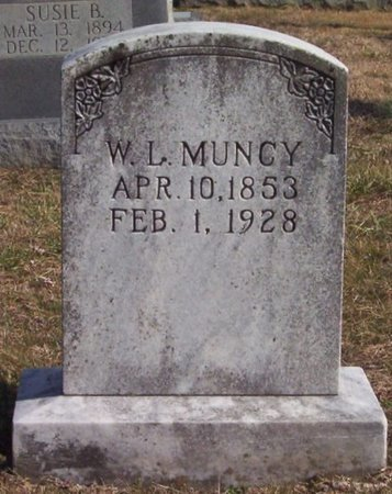 MUNCY, W. L. - Warren County, Tennessee | W. L. MUNCY - Tennessee Gravestone Photos
