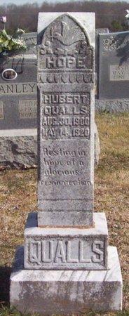 QUALLS, HUBERT - Warren County, Tennessee | HUBERT QUALLS - Tennessee Gravestone Photos