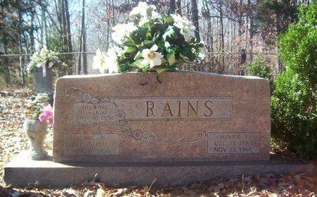RAINS, ISAAC R. - Warren County, Tennessee | ISAAC R. RAINS - Tennessee Gravestone Photos