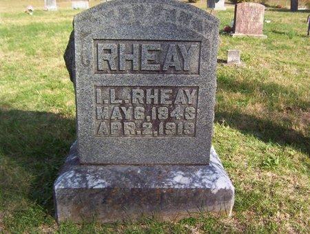 RHEAY, I. L. - Warren County, Tennessee | I. L. RHEAY - Tennessee Gravestone Photos