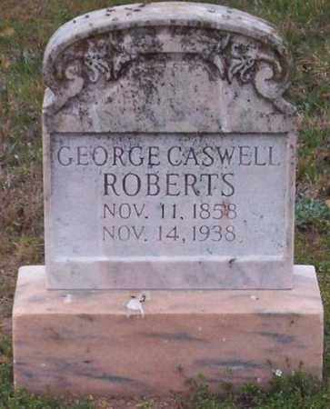 ROBERTS, GEORGE CASWELL - Warren County, Tennessee | GEORGE CASWELL ROBERTS - Tennessee Gravestone Photos