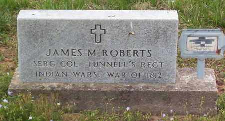 ROBERTS (VETERAN IW), JAMES M. - Warren County, Tennessee   JAMES M. ROBERTS (VETERAN IW) - Tennessee Gravestone Photos