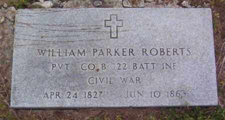 ROBERTS (VETERAN UNION), WILLIAM PARKER - Warren County, Tennessee | WILLIAM PARKER ROBERTS (VETERAN UNION) - Tennessee Gravestone Photos