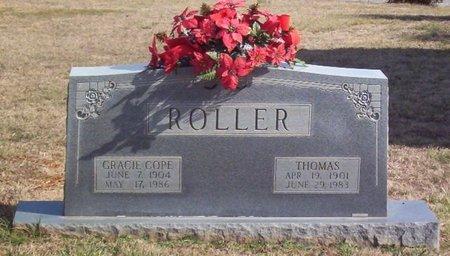 COPE ROLLER, GRACIE - Warren County, Tennessee | GRACIE COPE ROLLER - Tennessee Gravestone Photos