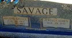 SAVAGE, JEWELL CATHEY - Warren County, Tennessee | JEWELL CATHEY SAVAGE - Tennessee Gravestone Photos