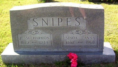 SNIPES, JESSE HARMON - Warren County, Tennessee | JESSE HARMON SNIPES - Tennessee Gravestone Photos