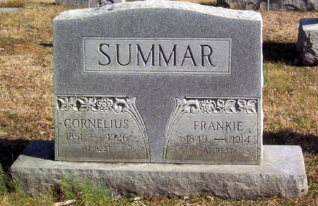 SUMMAR, CORNELIUS - Warren County, Tennessee | CORNELIUS SUMMAR - Tennessee Gravestone Photos