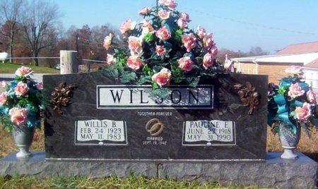 WILSON, PAULINE E. - Warren County, Tennessee | PAULINE E. WILSON - Tennessee Gravestone Photos