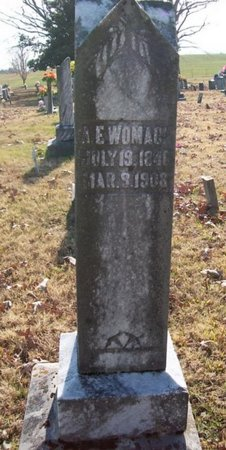 WOMACK, A. E. - Warren County, Tennessee | A. E. WOMACK - Tennessee Gravestone Photos