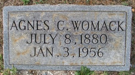 WOMACK, AGNES C. - Warren County, Tennessee | AGNES C. WOMACK - Tennessee Gravestone Photos