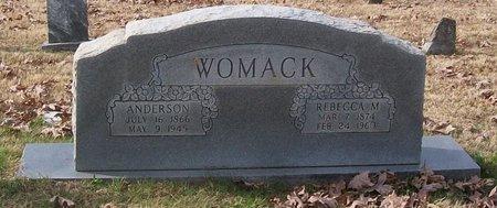 WOMACK, REBECCA M. - Warren County, Tennessee | REBECCA M. WOMACK - Tennessee Gravestone Photos