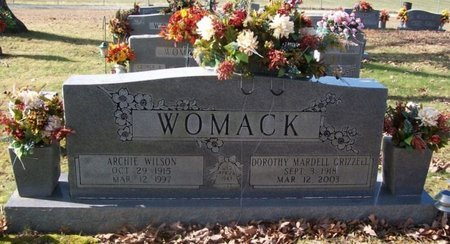 WOMACK, DOROTHY - Warren County, Tennessee | DOROTHY WOMACK - Tennessee Gravestone Photos