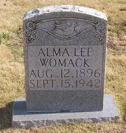 WOMACK, ALMA LEE - Warren County, Tennessee | ALMA LEE WOMACK - Tennessee Gravestone Photos