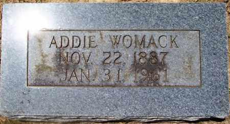 WOMACK, ADDIE - Warren County, Tennessee | ADDIE WOMACK - Tennessee Gravestone Photos