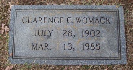 WOMACK, CLARENCE C. - Warren County, Tennessee | CLARENCE C. WOMACK - Tennessee Gravestone Photos