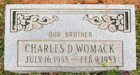 WOMACK, CHARLES D. - Warren County, Tennessee | CHARLES D. WOMACK - Tennessee Gravestone Photos