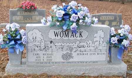 WOMACK, CARL MICHAEL - Warren County, Tennessee | CARL MICHAEL WOMACK - Tennessee Gravestone Photos