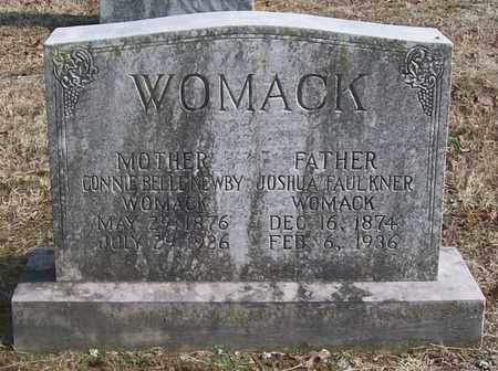 WOMACK, JOSHUA FAULKNER - Warren County, Tennessee | JOSHUA FAULKNER WOMACK - Tennessee Gravestone Photos
