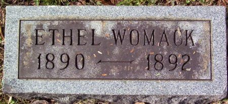 WOMACK, ETHEL - Warren County, Tennessee | ETHEL WOMACK - Tennessee Gravestone Photos