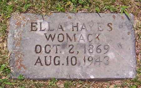 WOMACK, ELLA - Warren County, Tennessee | ELLA WOMACK - Tennessee Gravestone Photos