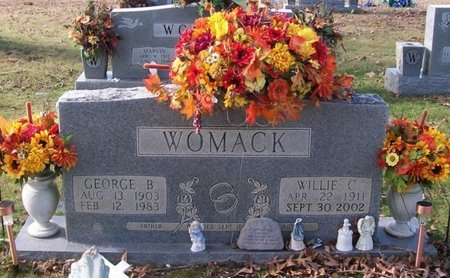 WOMACK, WILLIE C. - Warren County, Tennessee | WILLIE C. WOMACK - Tennessee Gravestone Photos