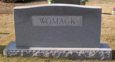 WOMACK, JOE HOUSTON - Warren County, Tennessee | JOE HOUSTON WOMACK - Tennessee Gravestone Photos